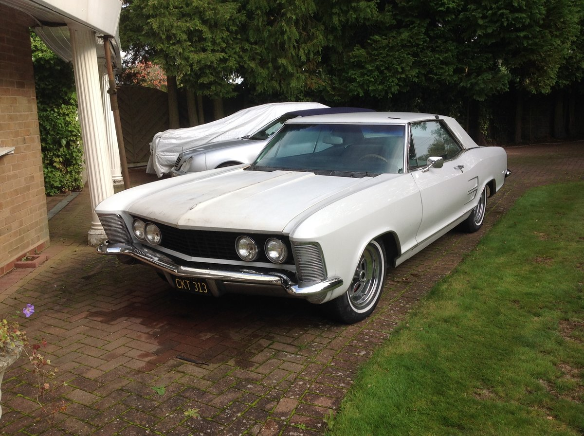 1963 Buick Riviera Sound rust free California classic For Sale (picture 1 of 6)