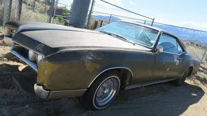 1967 Buick Riviera 430-v8 Auto Project California Car $3.2k For Sale