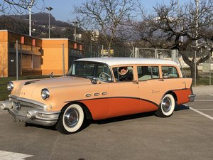 1956  Buick Special 4 door Station Estate Wagon