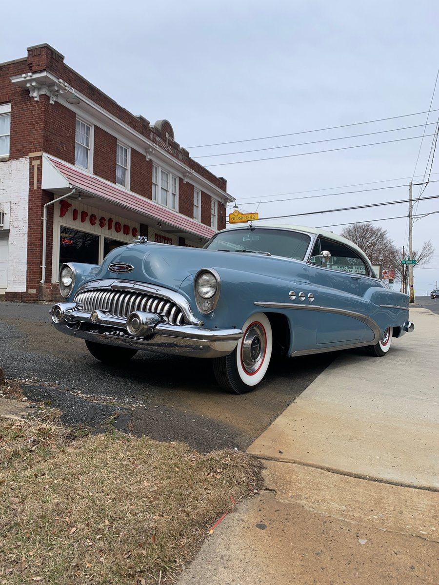 1953 Buick riviera Super hardtop coupe 1953 For Sale (picture 1 of 6)