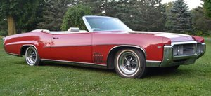 1969  Buick Wildcat Custom Convertible