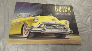 0000 BUICK/RAMBLER STRAIGHT 8 1951 RANGE OF CARS SALES BROCHURE