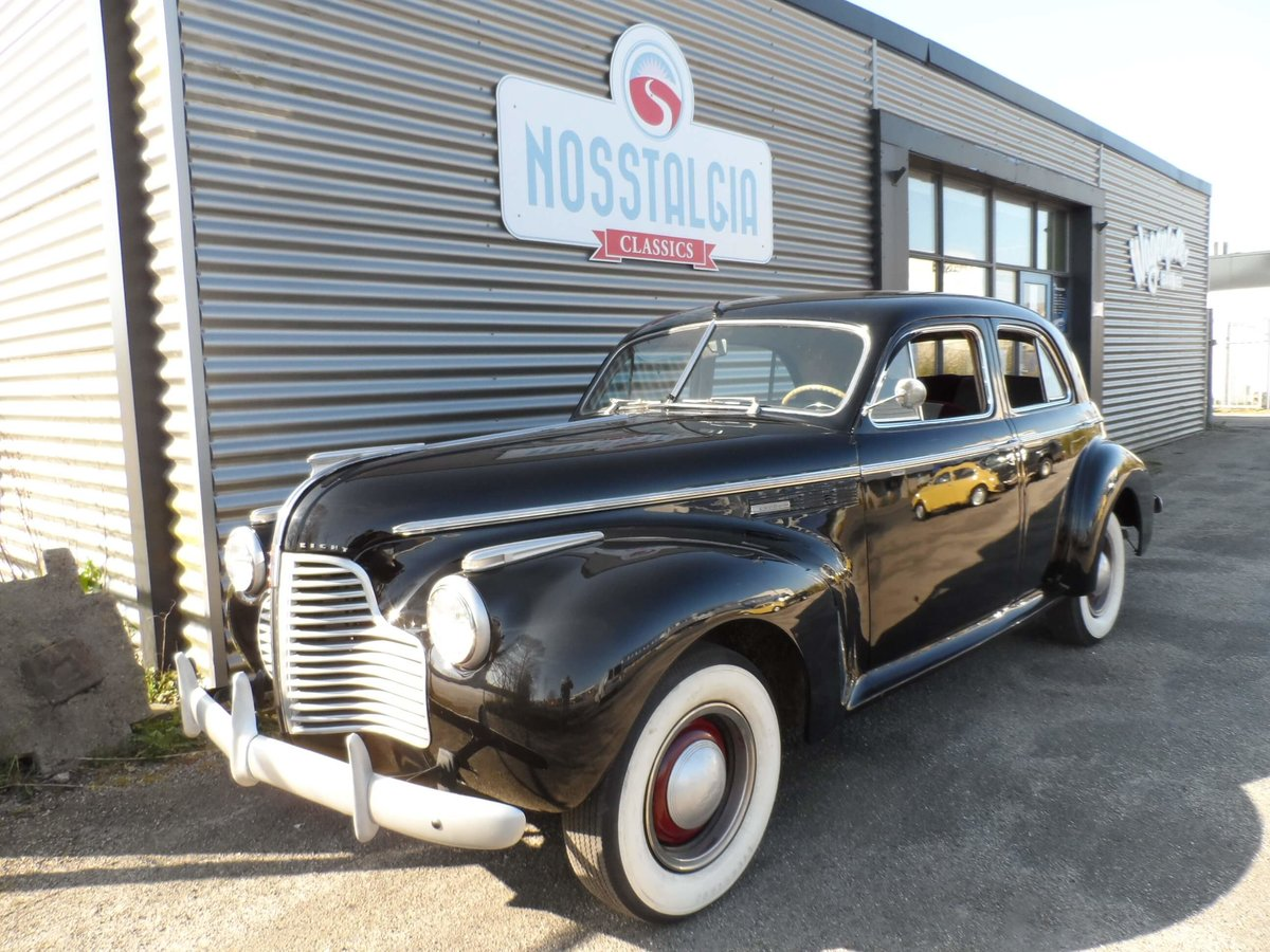 1940 Beautiful Buick with 8-cyl.  For Sale (picture 1 of 6)