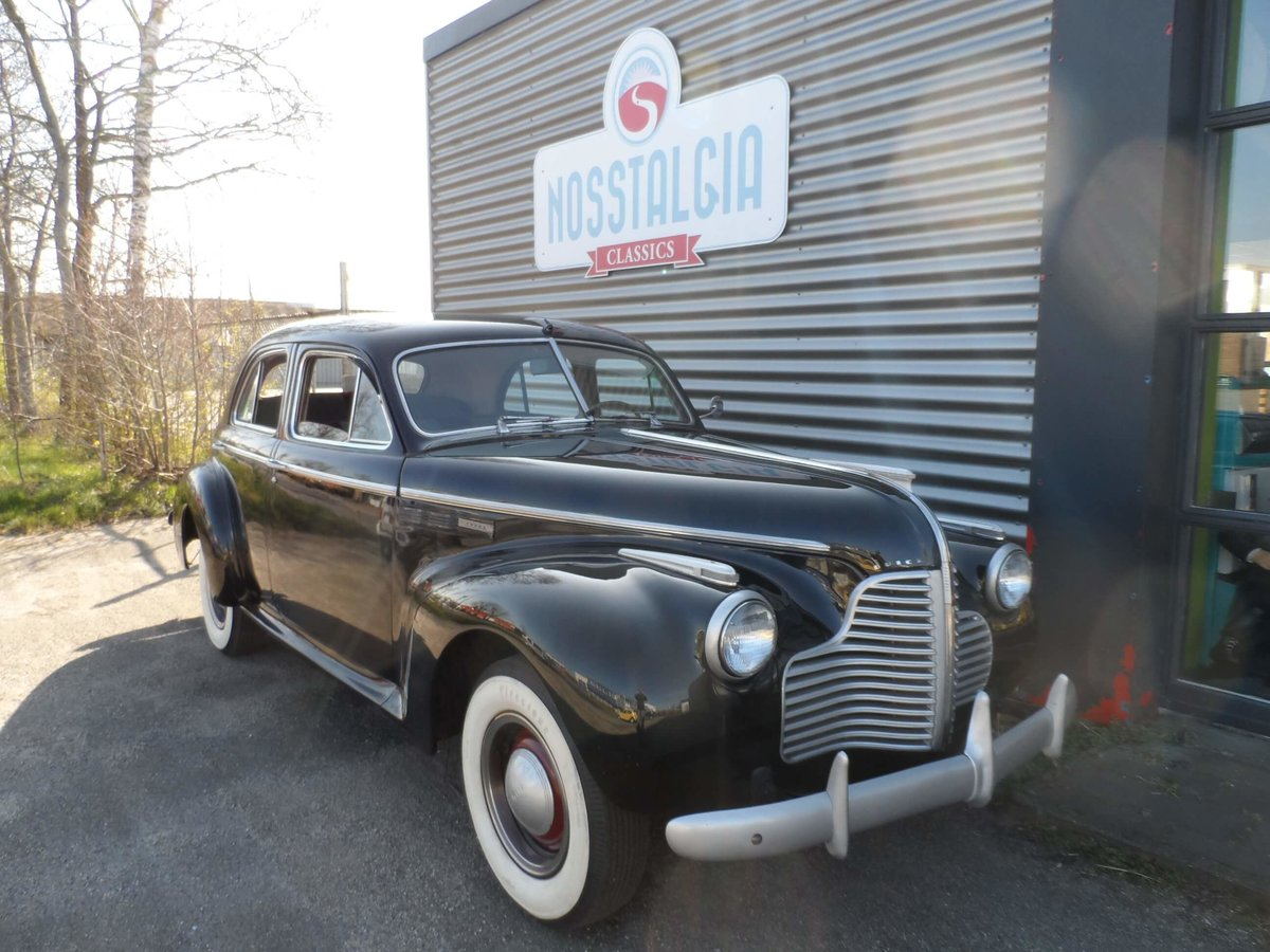 1940 Beautiful Buick with 8-cyl.  For Sale (picture 2 of 6)