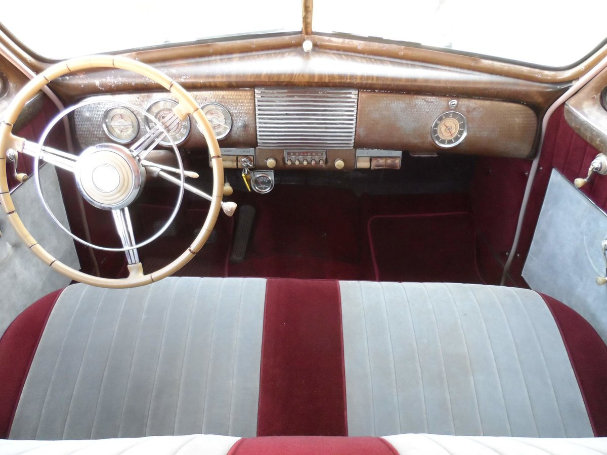 1940 Beautiful Buick with 8-cyl.  For Sale (picture 5 of 6)