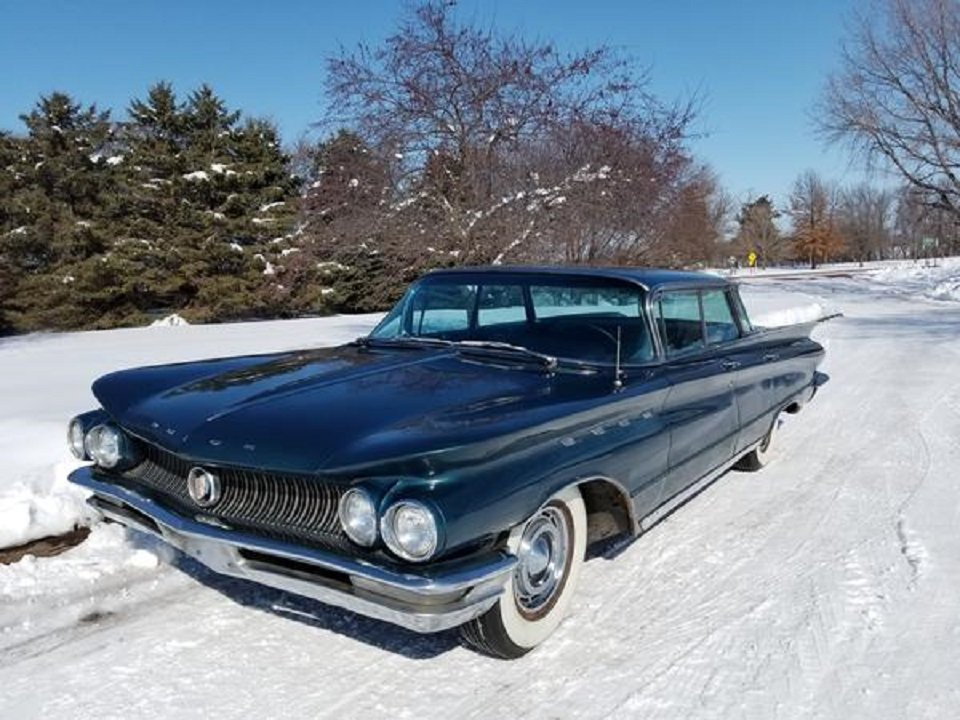 1960 Buick Electra 4DR HT For Sale (picture 1 of 6)