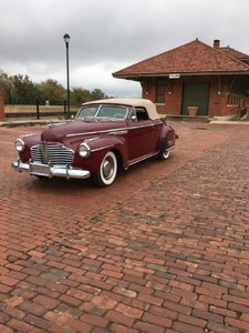 1941 Buick 8 Convertibe For Sale