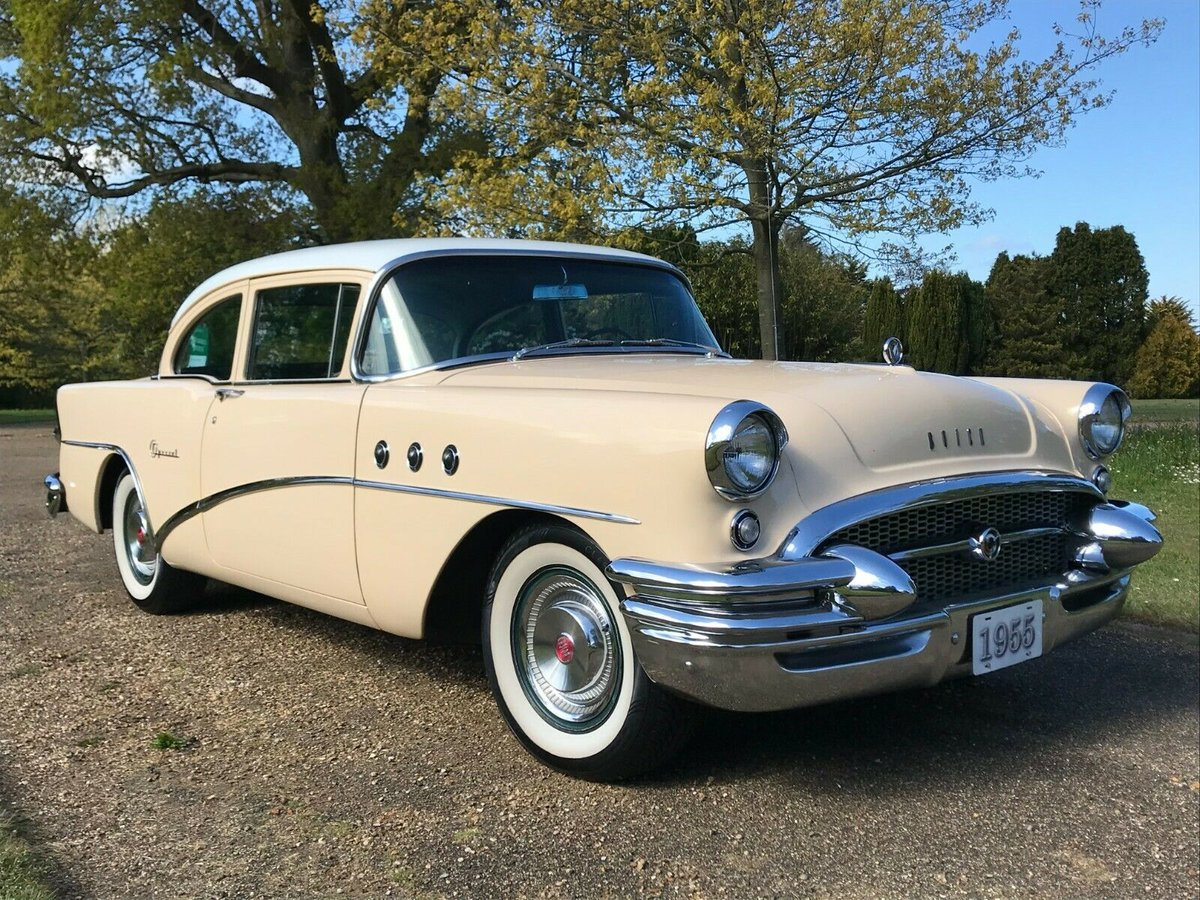 1955 Buick special 2 door sedan coupe For Sale (picture 1 of 6)