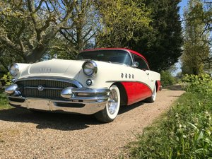 1955 Buick century 2 door hardtop pillarless coupe