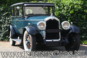 Buick 1927 Master Six Seven Window Sedan For Sale