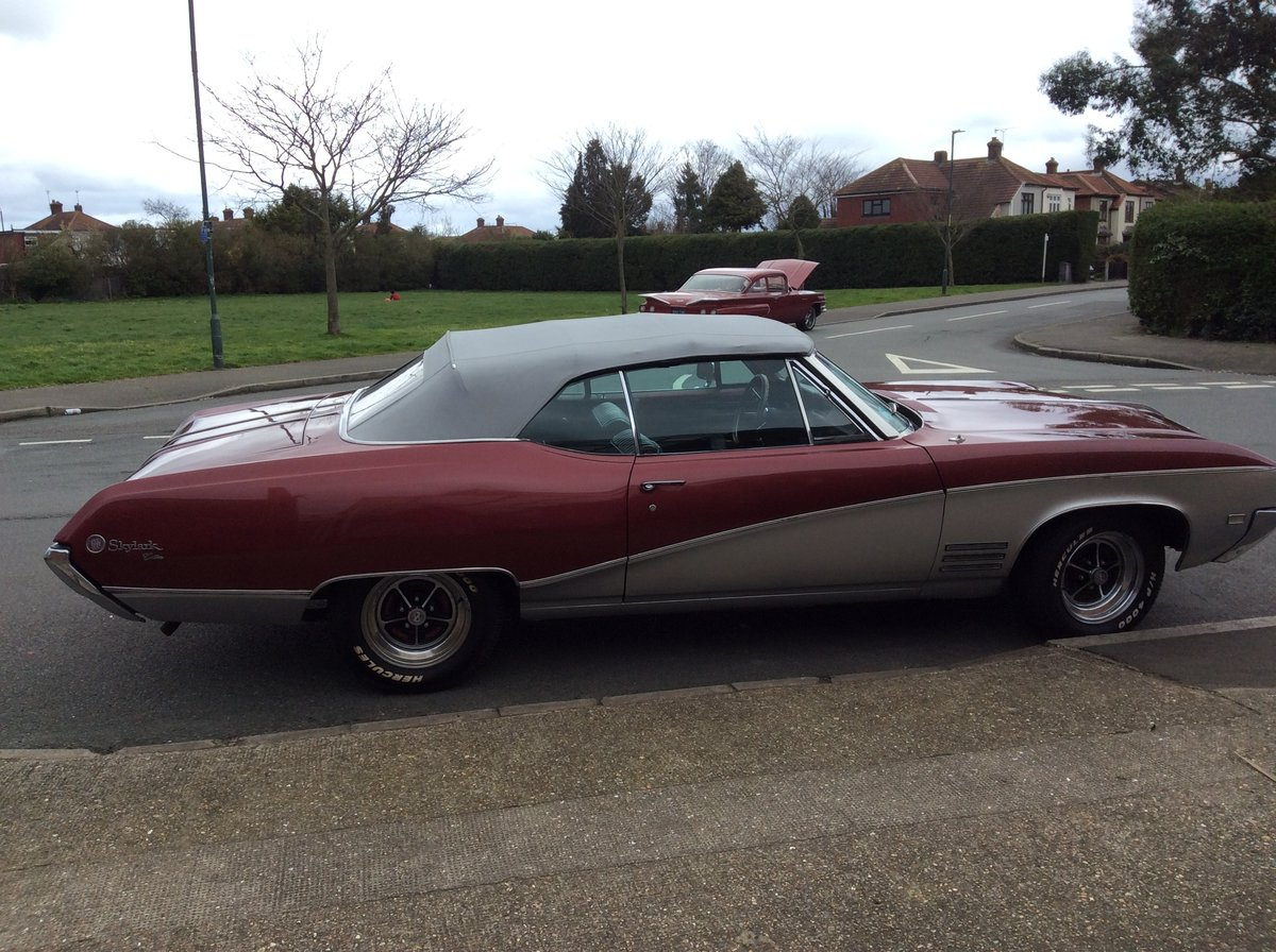 1968 Buick Skylark Custom Convertible For Sale (picture 1 of 6)