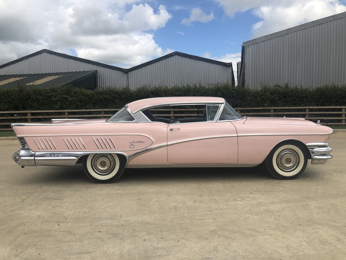 1958 BUICK LIMITED COUPE - SUPER RARE - 1 OF 1026 For Sale (picture 2 of 6)
