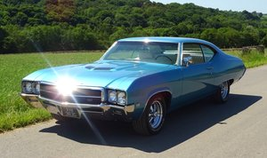 1969 BEAUTIFUL BUICK GS400 6.6 LITRE V8 BLUE WITH CREAM INTERIOR
