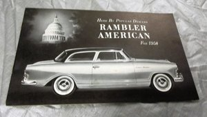 BUICK/RAMBLER STRAIGHT 8 ORIGINAL FACTORY BROCHURE