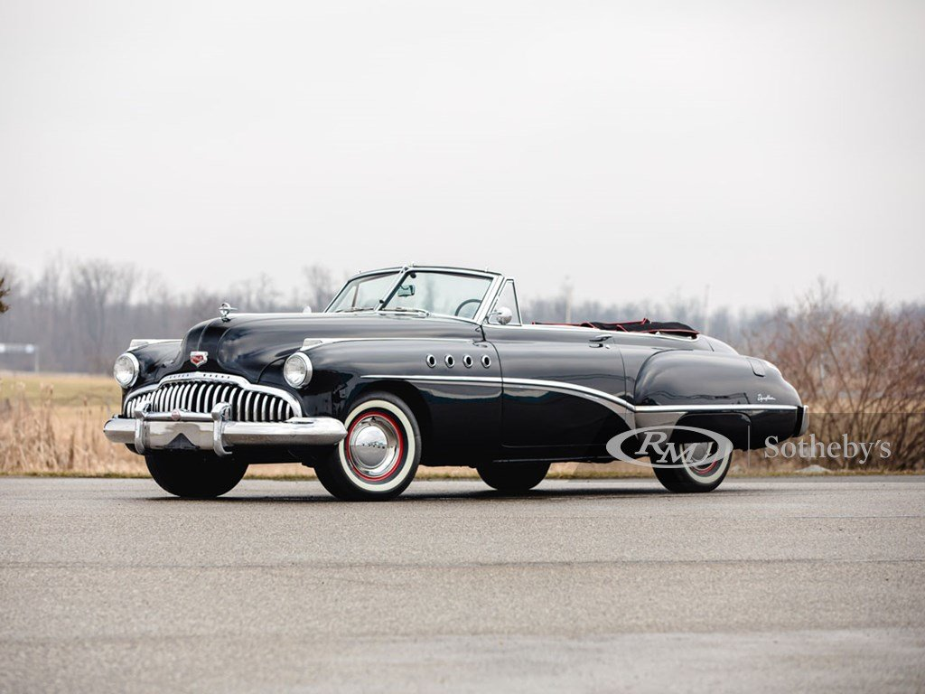1949 Buick Roadmaster Convertible  For Sale by Auction (picture 1 of 6)