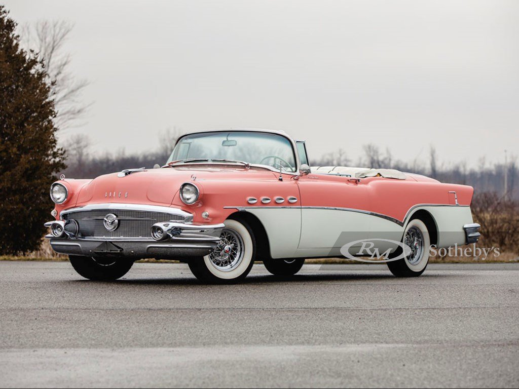 1956 Buick Roadmaster Convertible  For Sale by Auction (picture 1 of 6)
