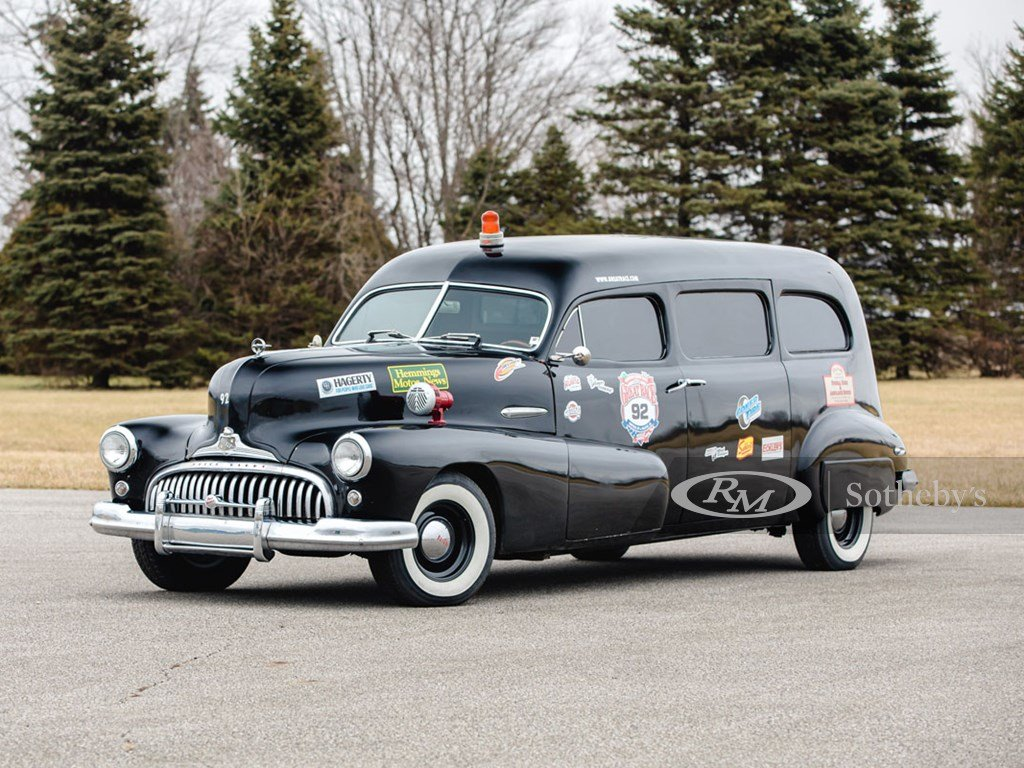 1948 Buick Hearse by Flxible For Sale by Auction (picture 1 of 6)