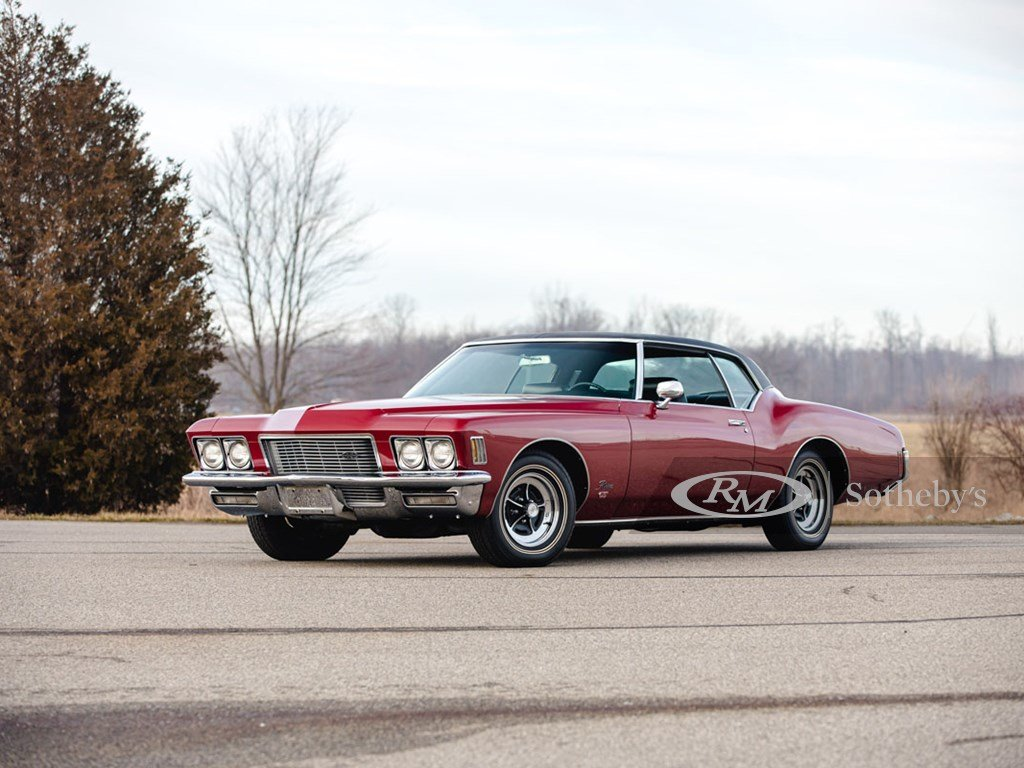 1971 Buick Riviera GS Sport Coupe  For Sale by Auction (picture 1 of 6)