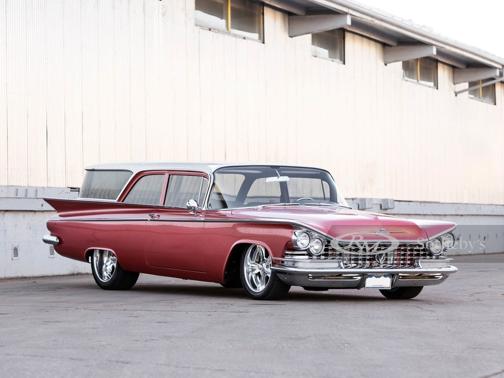 1959 Buick Invicta Estate Wagon Custom  For Sale by Auction (picture 1 of 6)