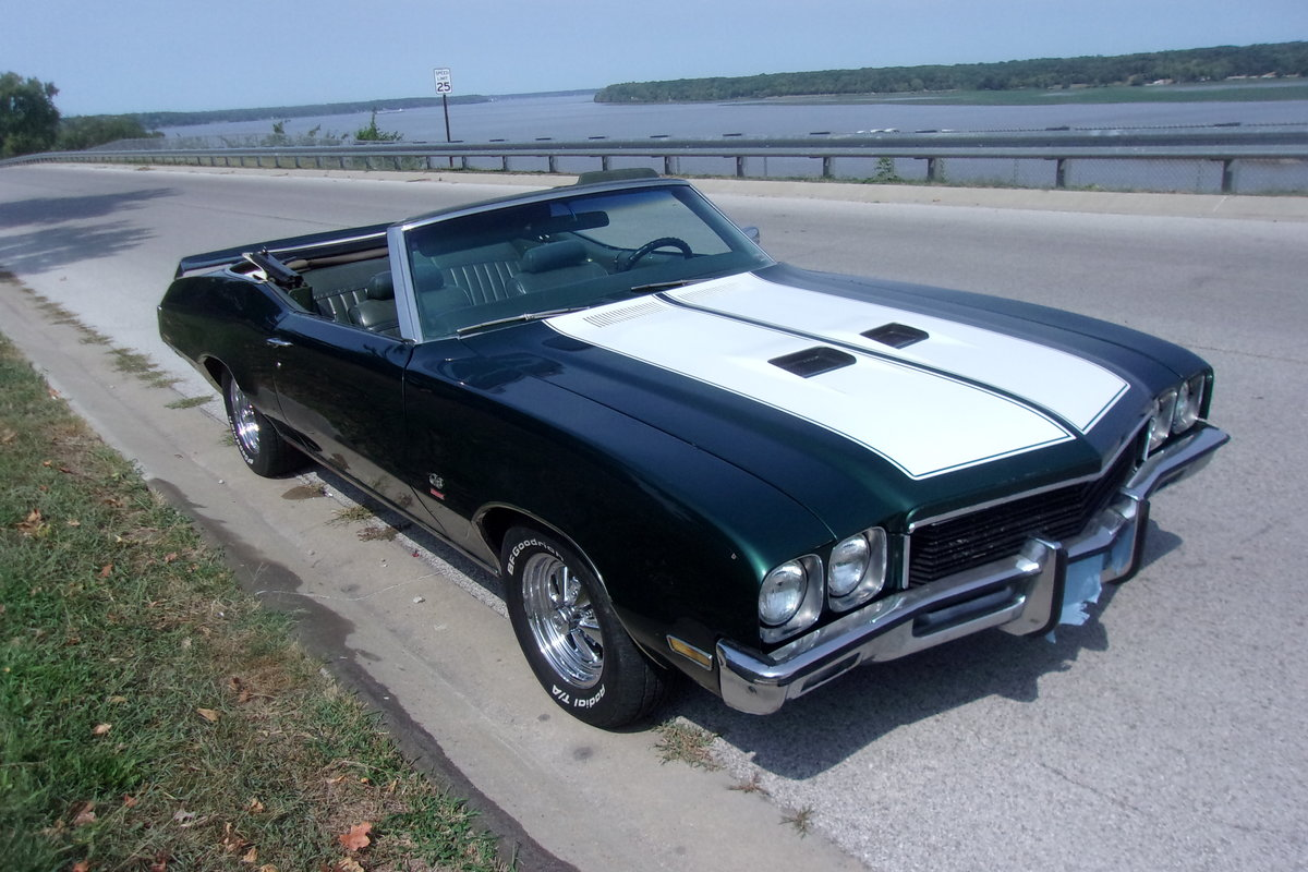 1972 Buick Skylark Grand Sport Convertible For Sale (picture 1 of 6)