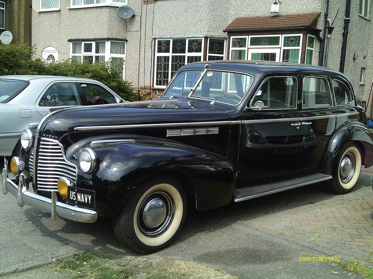 1940 Buick Series 60 Century For Sale (picture 2 of 3)
