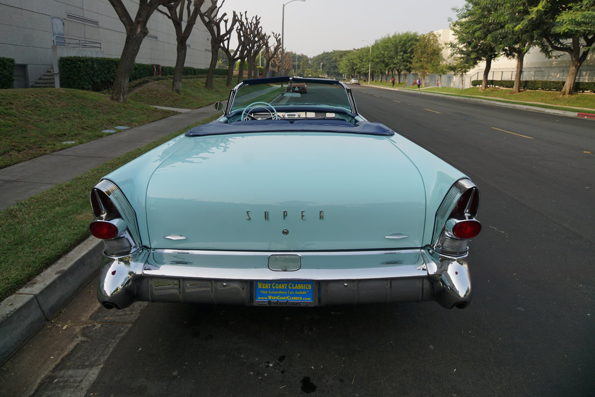 Orig CA 1957 Buick Super 364/300HP V8 Convertible SOLD (picture 4 of 6)