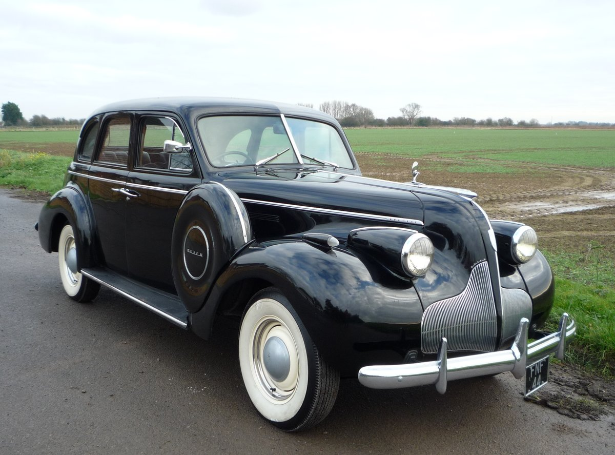 1939 Beautiful Straight Eight RHD, Pre-war Buick For Sale (picture 1 of 6)