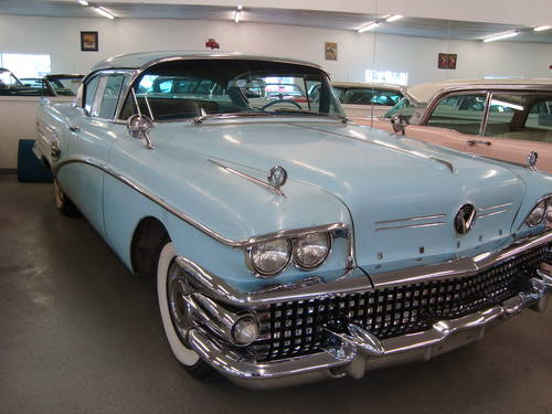 1958 Buick Super Riviera 2DR HT For Sale (picture 1 of 6)