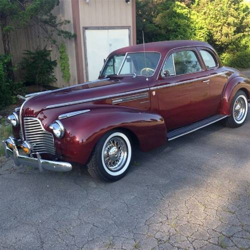 1940 Buick Business Coupe For Sale (picture 1 of 1)