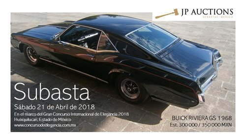 BUICK RIVIERA GS 1968 For Sale by Auction (picture 1 of 3)