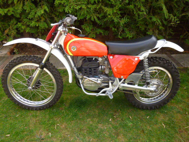 BULTACO PURSANG MK 8 363 cc 1975 Competition MOTOCROSSER For Sale (picture 1 of 6)