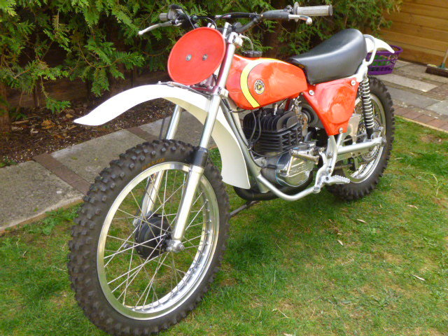 BULTACO PURSANG MK 8 363 cc 1975 Competition MOTOCROSSER For Sale (picture 3 of 6)