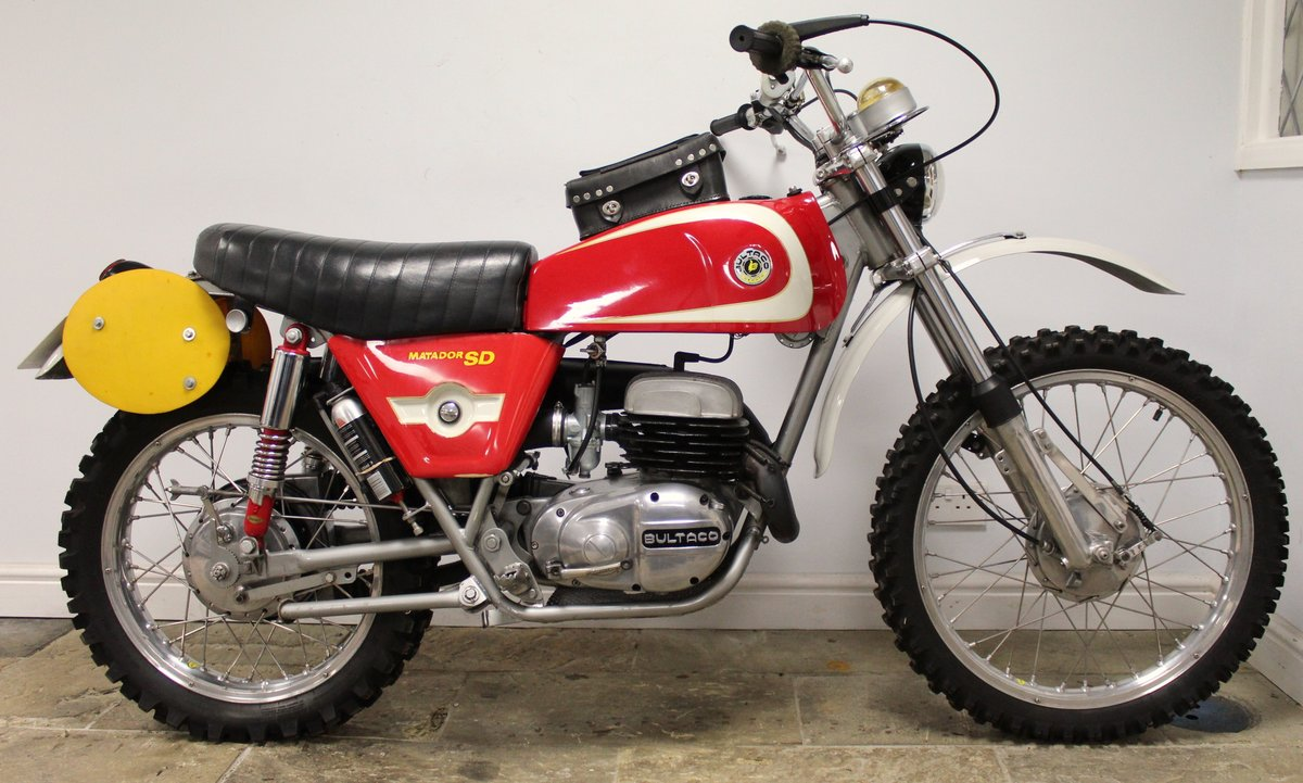 1974 Bultaco Matador SD MK5 Enduro ISDT Absolutely the best  SOLD (picture 1 of 6)