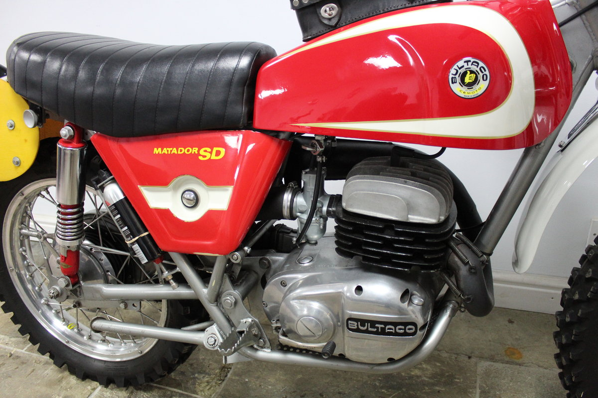 1974 Bultaco Matador SD MK5 Enduro ISDT Absolutely the best  SOLD (picture 2 of 6)