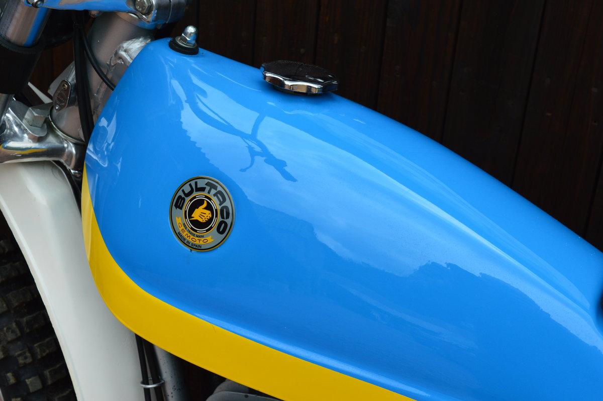 Bultaco Alpine 350 cc 1974,Stunning Restoration For Sale