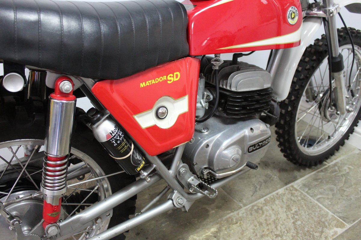 1974 Bultaco Matador SD MK5 Enduro ISDT Absolutely the best SOLD (picture 3 of 6)