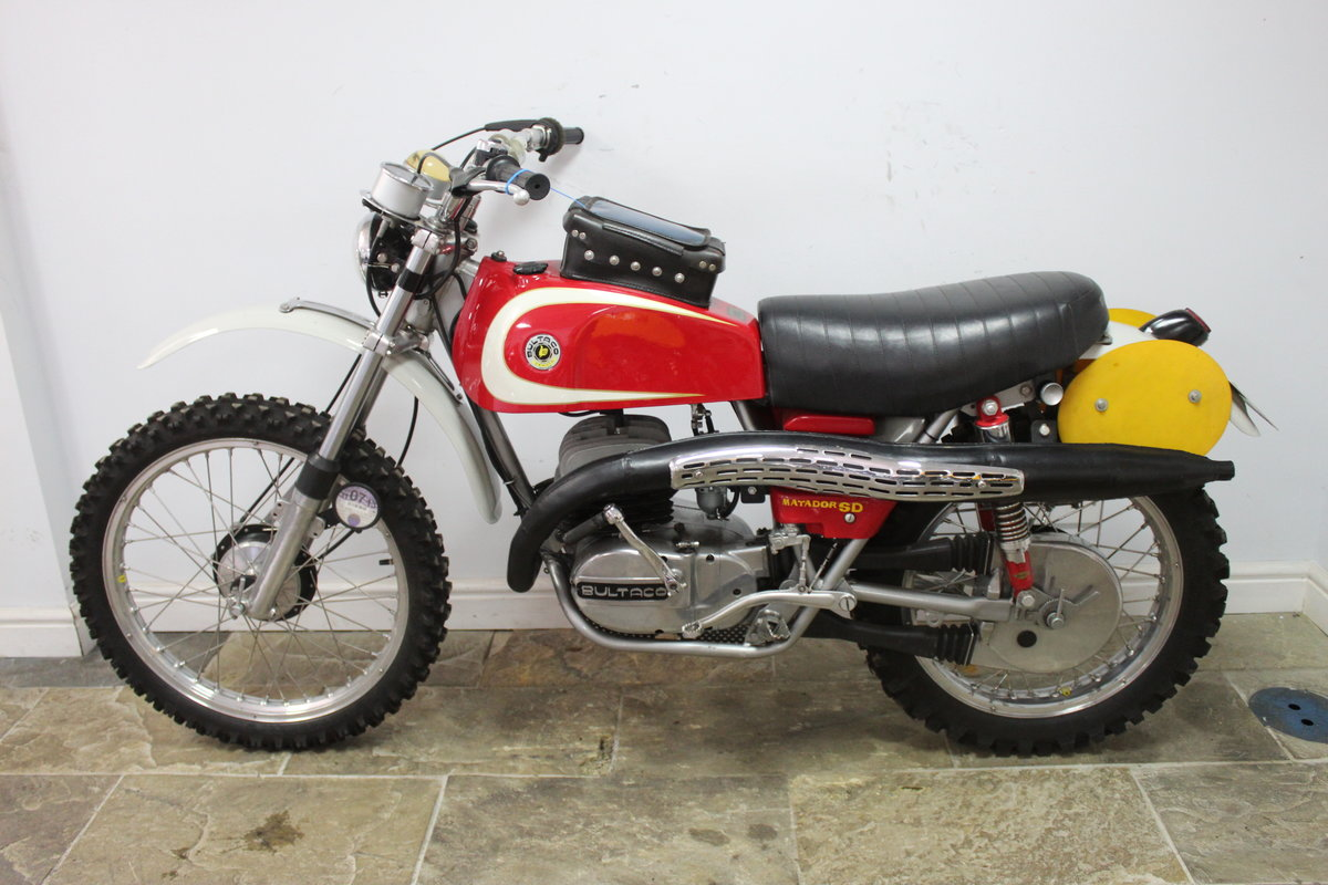 1974 Bultaco Matador SD MK5 Enduro ISDT Absolutely the best SOLD (picture 5 of 6)