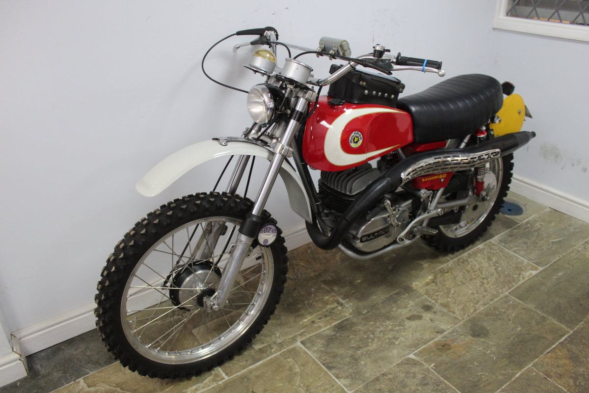 1974 Bultaco Matador SD MK5 Enduro ISDT Absolutely the best SOLD (picture 6 of 6)