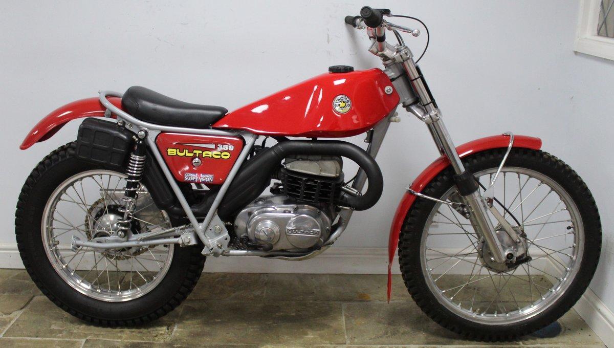 1975 Bultaco Sherpa T350 Twin Shock Trials Bike  For Sale (picture 1 of 6)