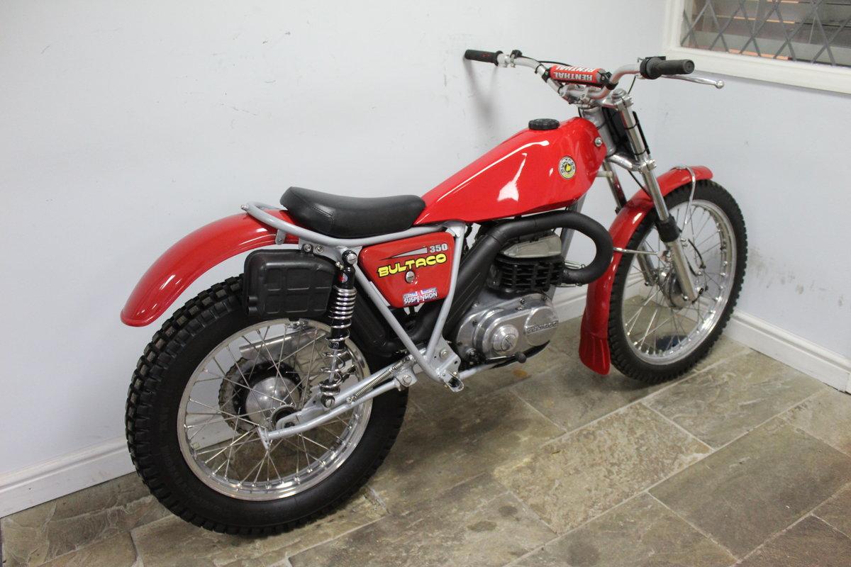 1975 Bultaco Sherpa T350 Twin Shock Trials Bike  For Sale (picture 2 of 6)