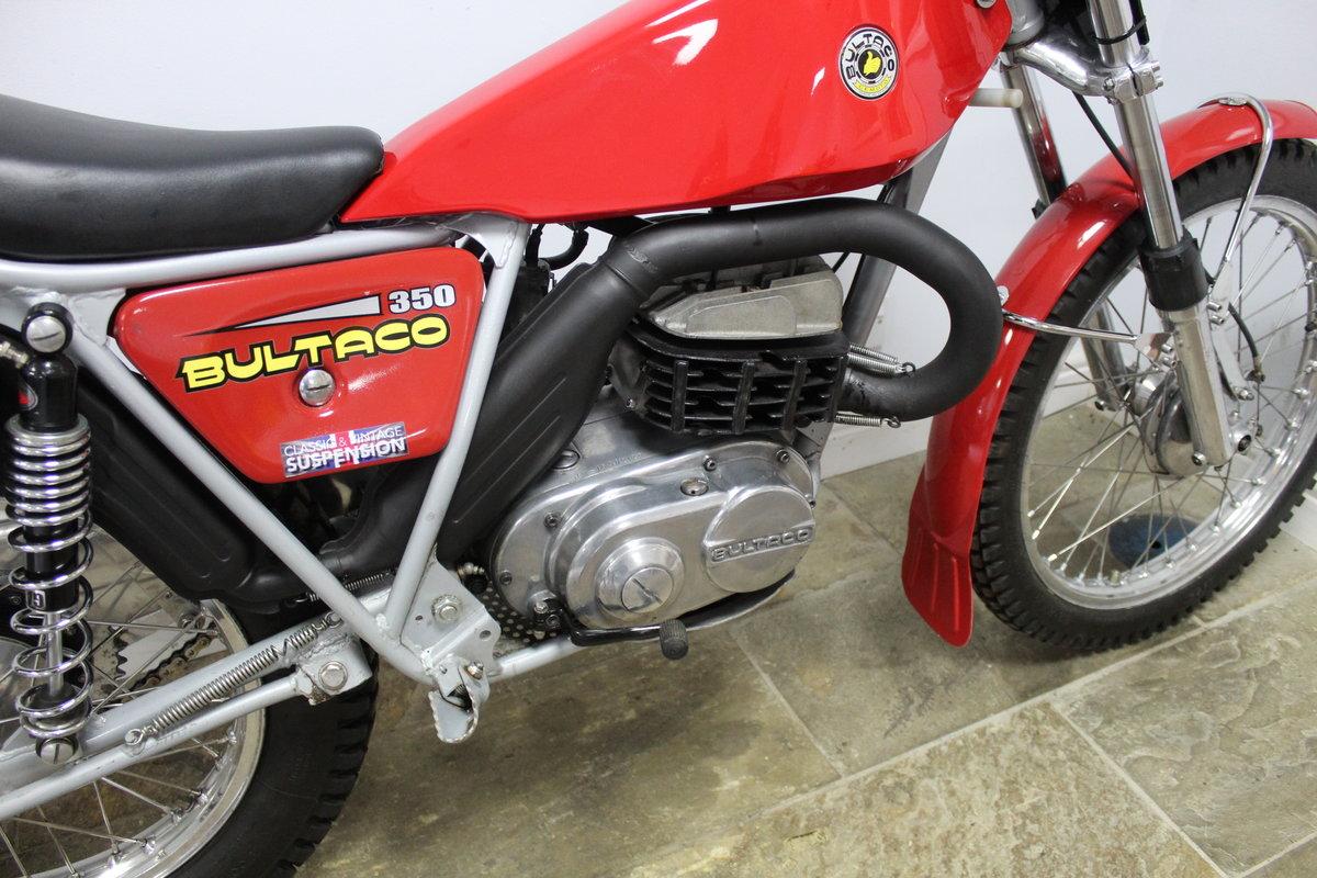 1975 Bultaco Sherpa T350 Twin Shock Trials Bike  For Sale (picture 3 of 6)