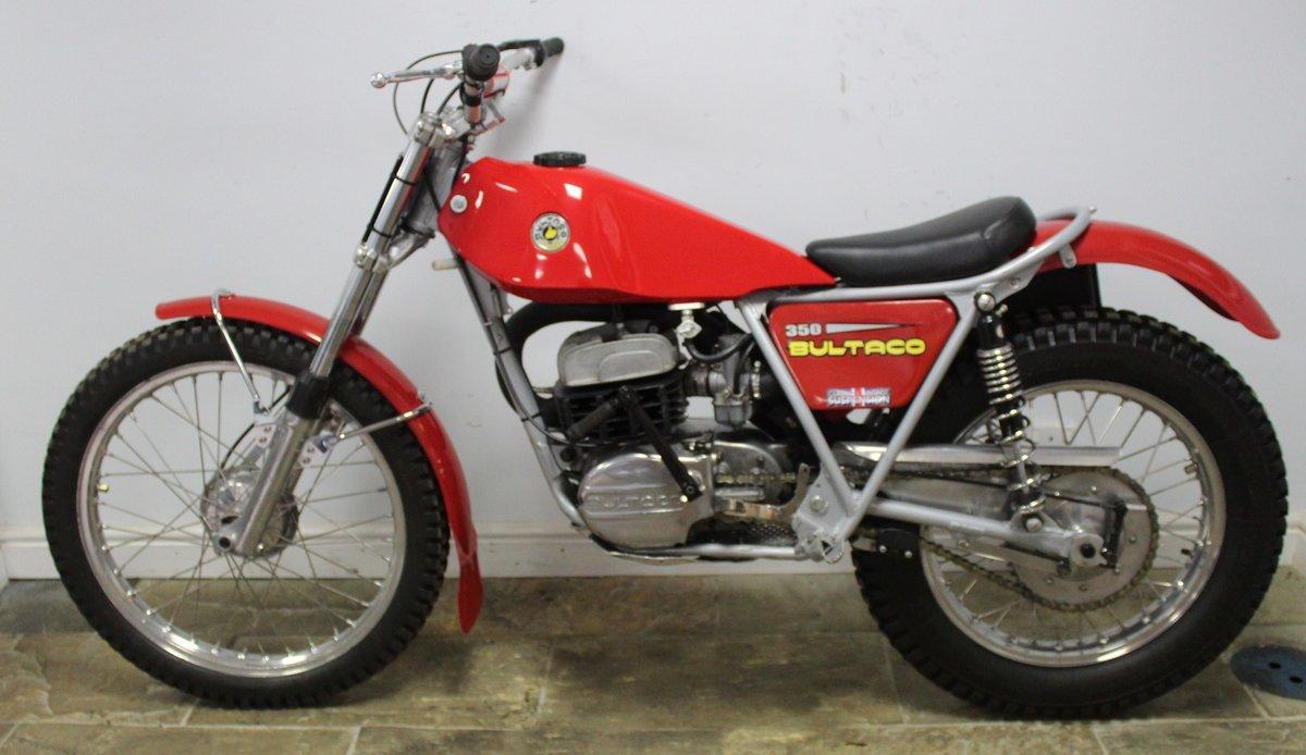 1975 Bultaco Sherpa T350 Twin Shock Trials Bike  For Sale (picture 4 of 6)