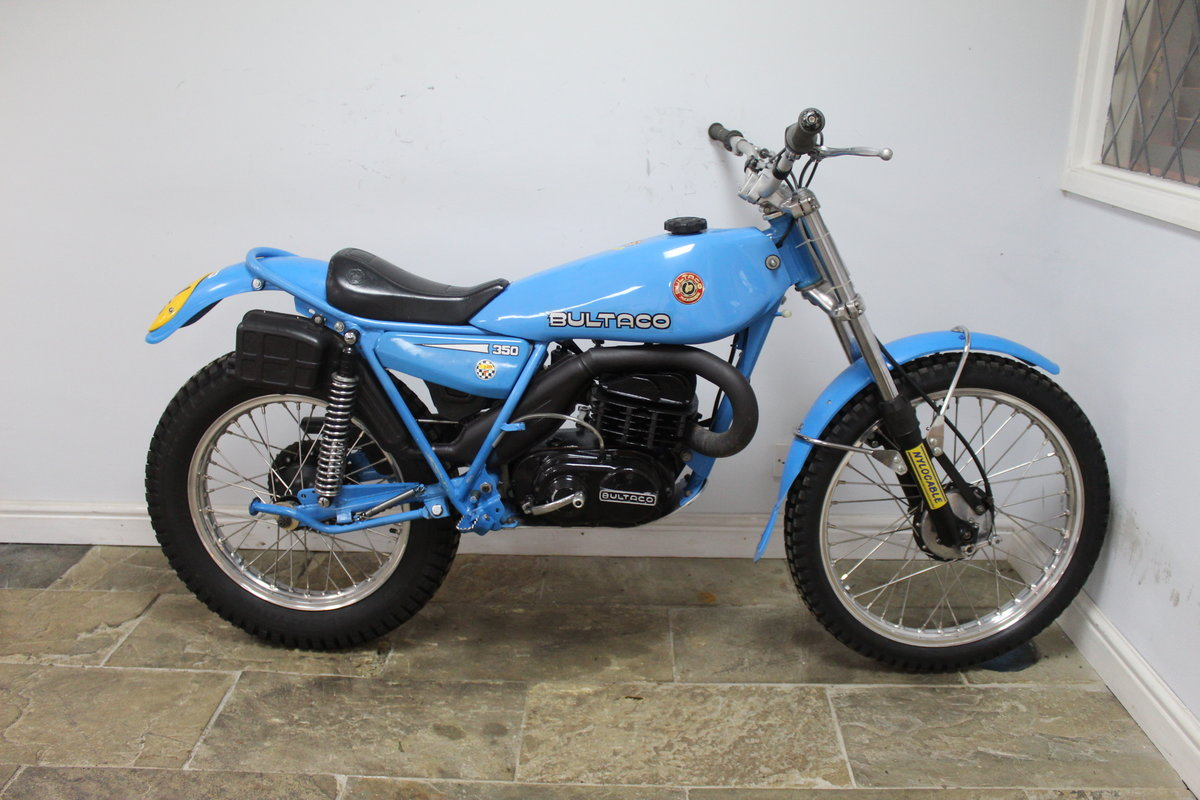 1979 Bultaco Sherpa T 350 cc Model 199 , Road registered SOLD (picture 1 of 6)