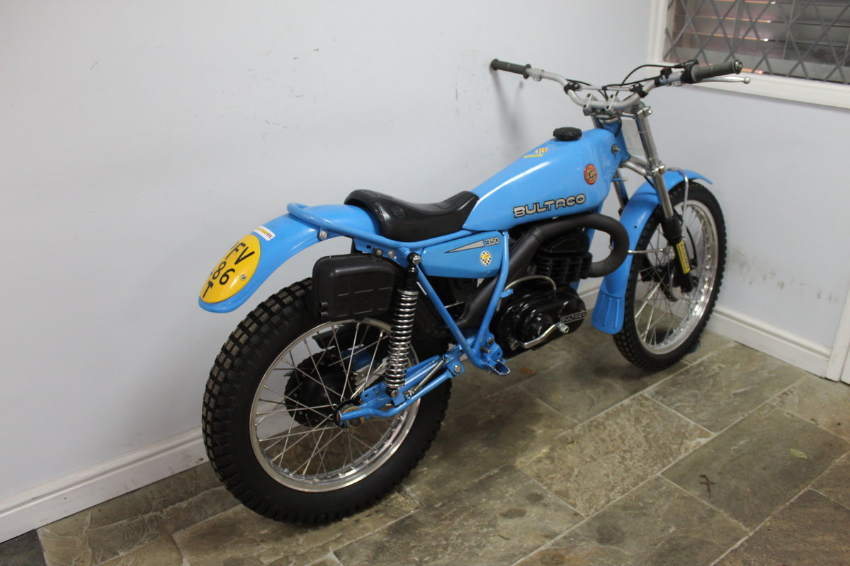 1979 Bultaco Sherpa T 350 cc Model 199 , Road registered SOLD (picture 2 of 6)