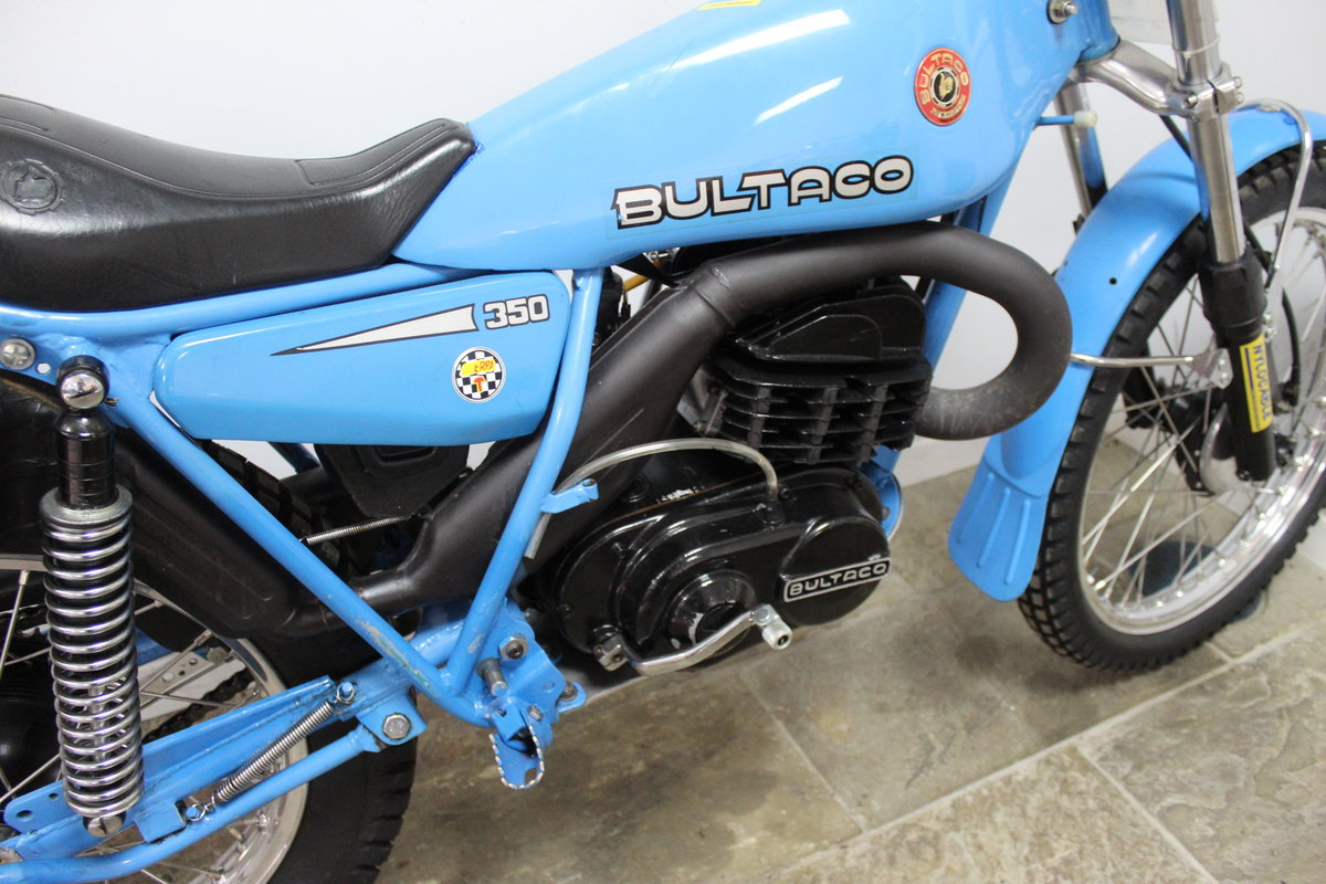 1979 Bultaco Sherpa T 350 cc Model 199 , Road registered SOLD (picture 3 of 6)