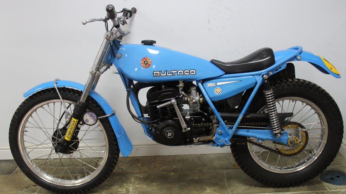 1979 Bultaco Sherpa T 350 cc Model 199 , Road registered SOLD (picture 4 of 6)