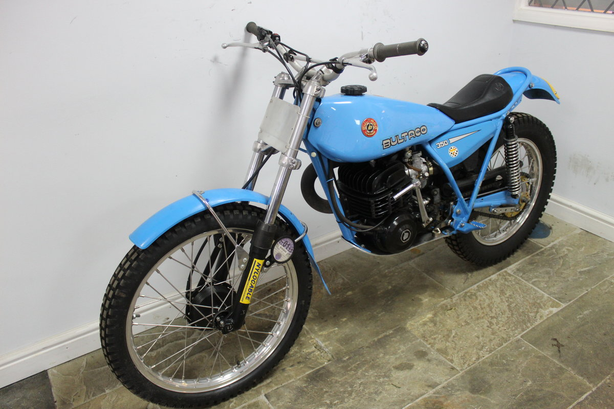 1979 Bultaco Sherpa T 350 cc Model 199 , Road registered SOLD (picture 5 of 6)
