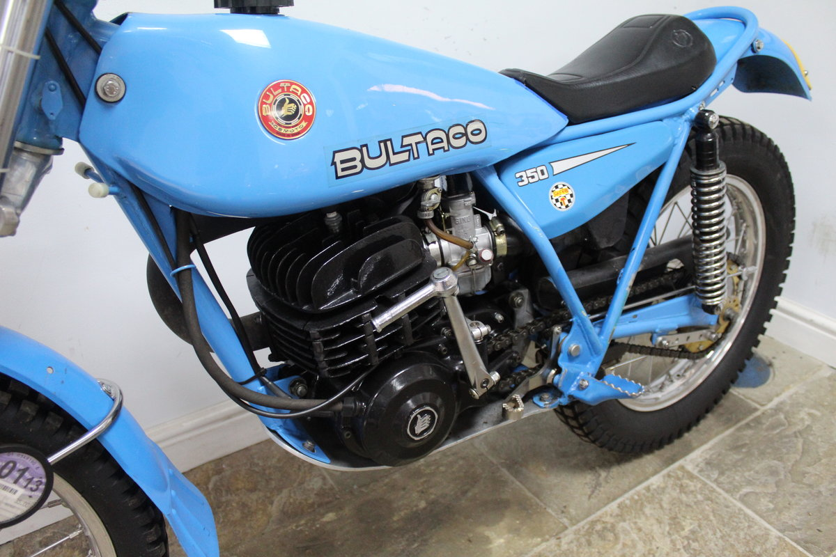 1979 Bultaco Sherpa T 350 cc Model 199 , Road registered SOLD (picture 6 of 6)
