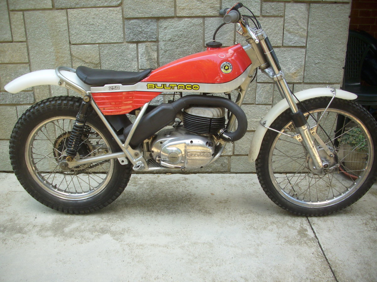 1974 BULTACO Sherpa T250 motorcycle trial era For Sale (picture 1 of 6)
