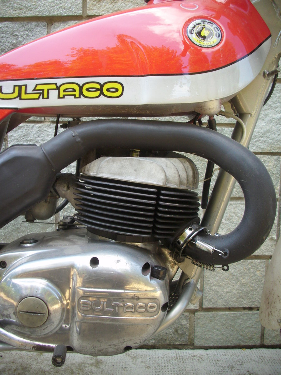 1974 BULTACO Sherpa T250 motorcycle trial era For Sale (picture 2 of 6)